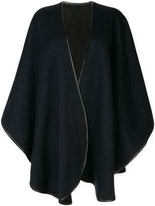 Sofia Cashmere draped cardigan cape
