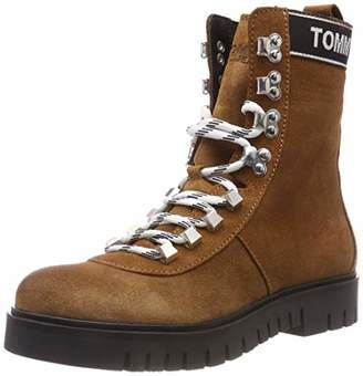 Tommy Jeans Hilfiger Denim Women's Hiking Boot Combat