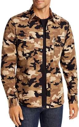 Michael Kors Camo Slim Fit Shirt Jacket
