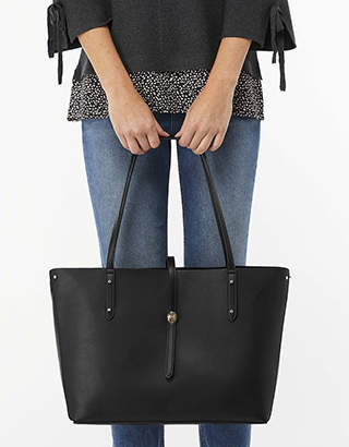 Monsoon Taylor Turnlock Shopper Bag
