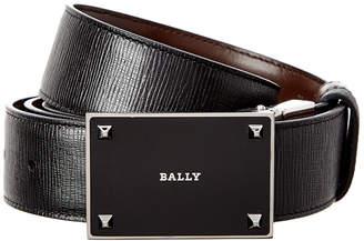 Bally Cein 35Mm Adjustable & Reversible Leather Belt