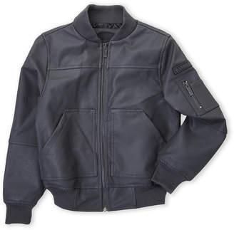 Urban Republic Boys 8-20) Faux Leather Aviator Jacket