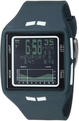 Vestal Women's 'Brig' Quartz Plastic and Polyurethane Sport Watch, Color Grey (Model: BRG037.N)