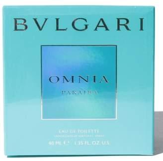 Bvlgari Import Super Bargain 【 】オムニア パライバ オードトワレ 40mL