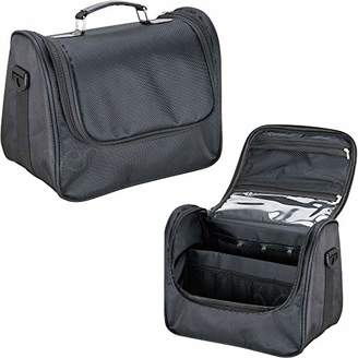 Ver Beauty Soft Sided Makeup Cosmetic Beauty Travel Nylon Case Toiletry Bag Organizer Kit