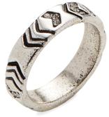 Silver-Tone Echo Crest Midi Ring $23 thestylecure.com