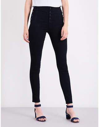 J Brand Natasha super-skinny high-rise jeans