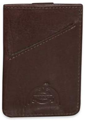 Dopp Carson Pull-Tab Cash & Carry Leather RFID Case in Espresso