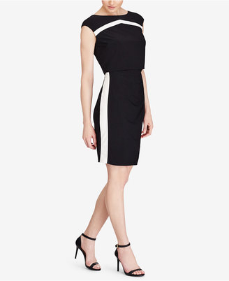 American Living Kendrick Two-Toned Jersey Dress $79 thestylecure.com