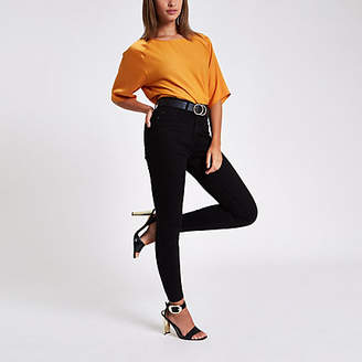 River Island Womens Orange loose fit blouse