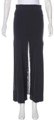 Soyer Slit-Accented Maxi Skirt w/ Tags