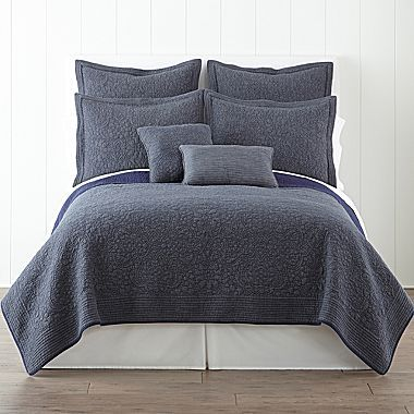 JCPenney Barcelona Quilt & Accessories