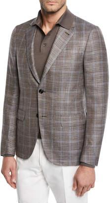 Ermenegildo Zegna Men's Plaid Sport Coat