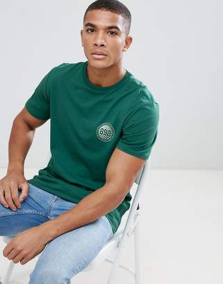 New Look T-Shirt With New York Badge Print In Green