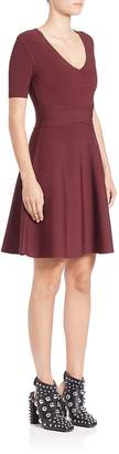 Alexander Wang Women's Rib-Knit Fit-&-Flare Dress