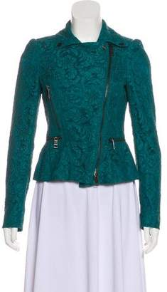 Burberry Lace Moto Jacket