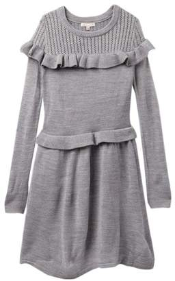 Ella Moss Ruffle Sweater Dress (Big Girls)