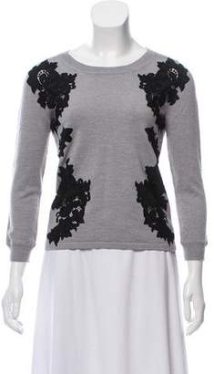 Diane von Furstenberg Three-Quarter Sleeve Knit Sweater