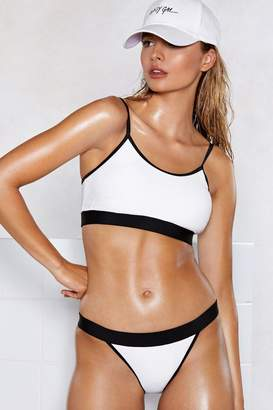 Nasty Gal Go With the Flow Bikini Set