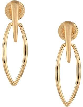 Robert Lee Morris Gold Drop Earrings Earring