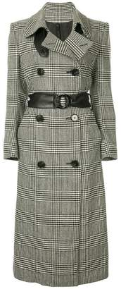 Petar Petrov double-breasted checked coat