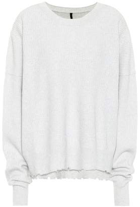 Unravel Ribbed wool and cashmere sweater
