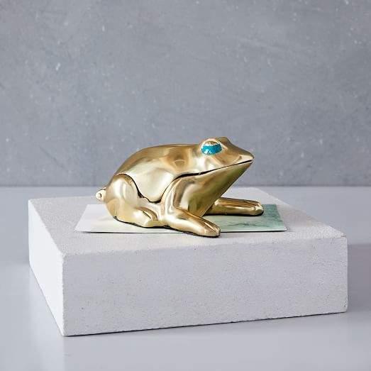 Brass Frog Box