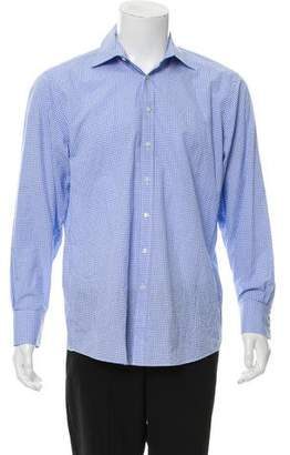 Thomas Pink The Sterling Plaid Slim Fit Shirt