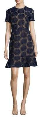 MICHAEL Michael Kors Floral Embroidered Sheath Dress