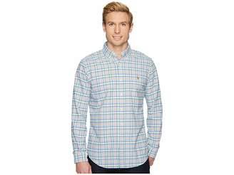 Polo Ralph Lauren Oxford Long Sleeve Sport Shirt Men's Clothing