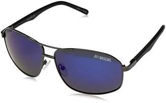 Nascar Drag 005P Polarized Aviator Sunglasses