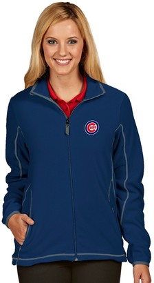 Antigua Women's Chicago Cubs Ice Polar Fleece Jacket