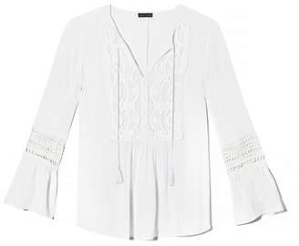 Vince camuto lace blouse shopstyle