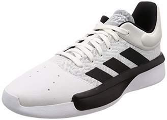 buy popular ee5b7 4efdf adidas Mens Pro Adversary Low 2019 Basketball Shoes, FTWR WhiteCore Black Grey