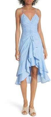 Joie Eberta Stripe High/Low Dress