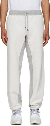 adidas Originals by Alexander Wang Grey Inout Jogger Lounge Pants $160 thestylecure.com