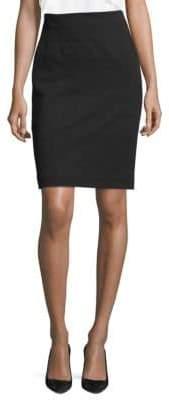 BOSS Mibela Jersey Pencil Skirt