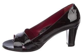 Taryn Rose Patent Crossover Pumps