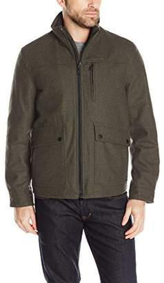 Nautica Men's Wool Melton Jacket