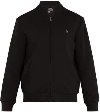 Polo Ralph Lauren Logo-embroidered jersey jacket