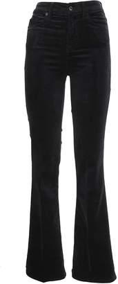 Seven London black velvet Trousers