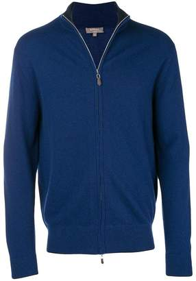 N.Peal cashmere zipped up cardigan