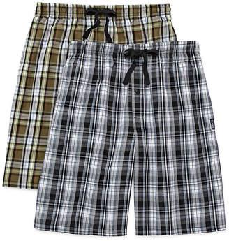 Hanes 2-pk. Woven Pajama Shorts