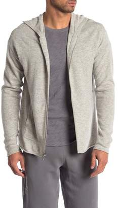ATM Anthony Thomas Melillo Wool & Cashmere Blend Zip-Up Hoodie