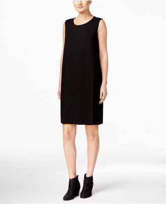 Eileen Fisher Jewel Neck Dress $178 thestylecure.com