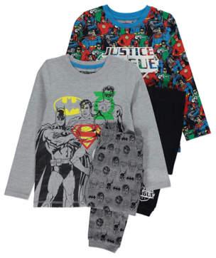Justice Dc Comics George League Pyjamas 2 Pack