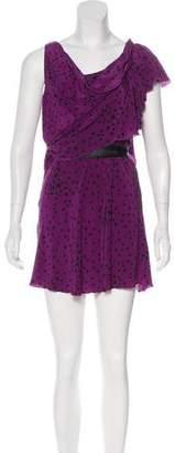 Gryson Silk Printed Dress