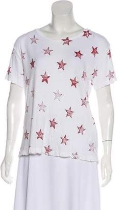 Current/Elliott Star Printed T-Shirt