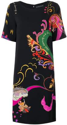 Etro short-sleeved printed dress
