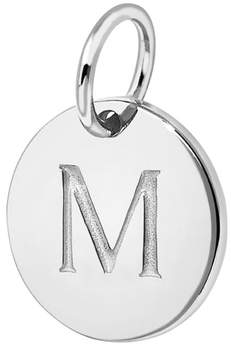 Missoma M Sterling Silver Charm